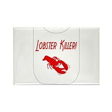 Lobster Killer Rectangle Magnet