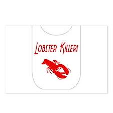 Lobster Killer Postcards (Package of 8)