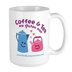 Large Coffee & Tea Are Gluten Free Mug