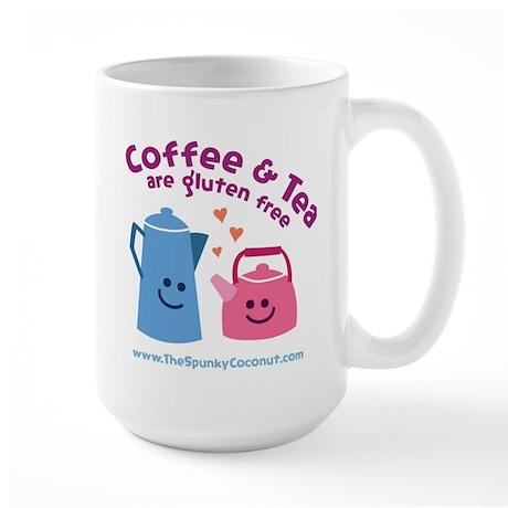 Large Coffee & Tea Are Gluten Free Mug