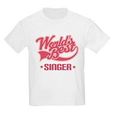 Worlds Best Singer T-Shirt
