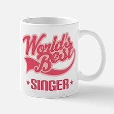Worlds Best Singer Mug