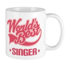 Worlds Best Singer Mug