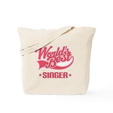 Worlds Best Singer Tote Bag