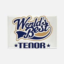 Worlds Best Tenor Rectangle Magnet