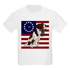 Patriot Brittany Pup T-Shirt