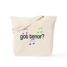 Got Tenor Tote Bag