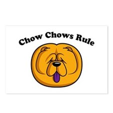 Chow Chows Rule Postcards (Package of 8)