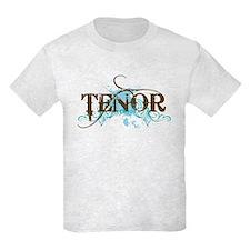 Grunge Blue Tenor T-Shirt