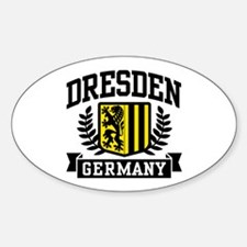 Dresden Germany Sticker (Oval)