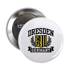 """Dresden Germany 2.25"""" Button"""