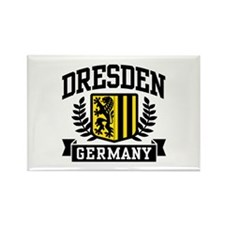 Dresden Germany Rectangle Magnet