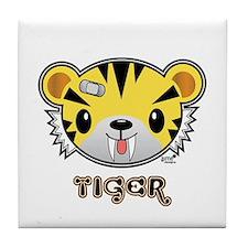 Big (Moshi Moshi) Tiger Tile Coaster