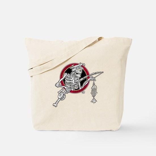 Cute Fish skeleton Tote Bag