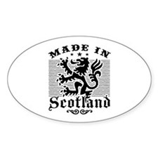 Made In Scotland Decal