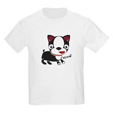 Boston Terrier Puppy -Woof T-Shirt