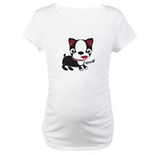 Boston Terrier Puppy -Woof Shirt