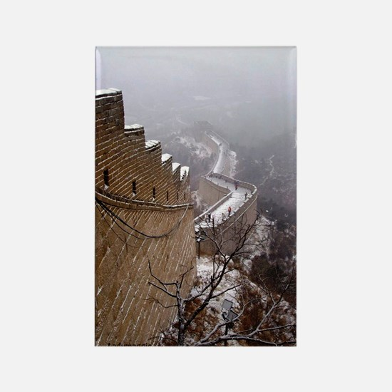 Great Wall China Rectangle Magnet