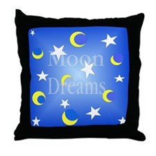 Moon Dreams Throw Pillow
