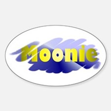 Moonie Oval Decal