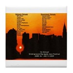 2009 Jazz Fest Tile Coaster