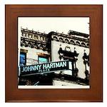 Johnny Hartman Plaza Framed Tile