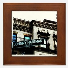 Johnny Hartman Plaza Framed Tile