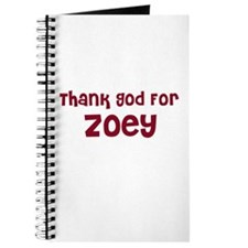 Thank God For Zoey Journal