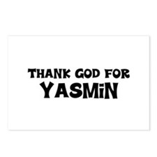 Thank God For Yasmin Postcards (Package of 8)