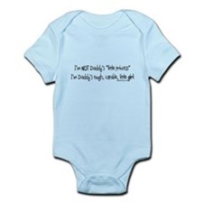 NOT Daddy's princess girl power Infant Bodysuit
