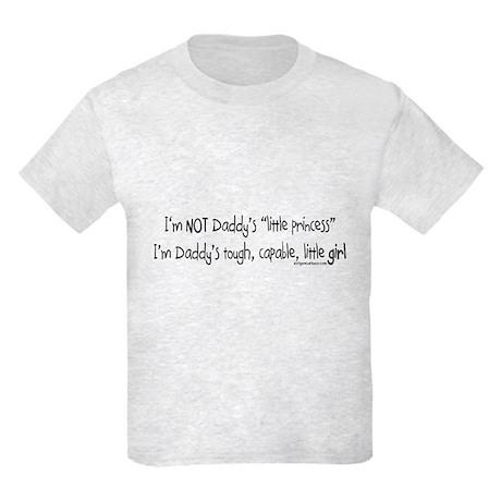 NOT Daddy's princess girl power Kids Light T-Shirt