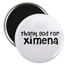 Thank God For Ximena Magnet