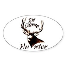 Big game hunter Decal
