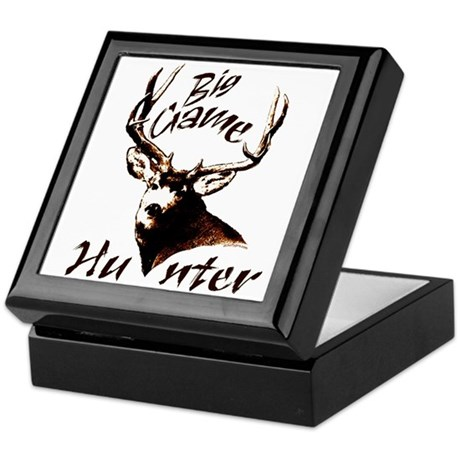 Big game hunter Keepsake Box