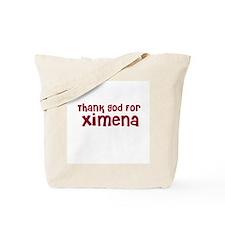 Thank God For Ximena Tote Bag