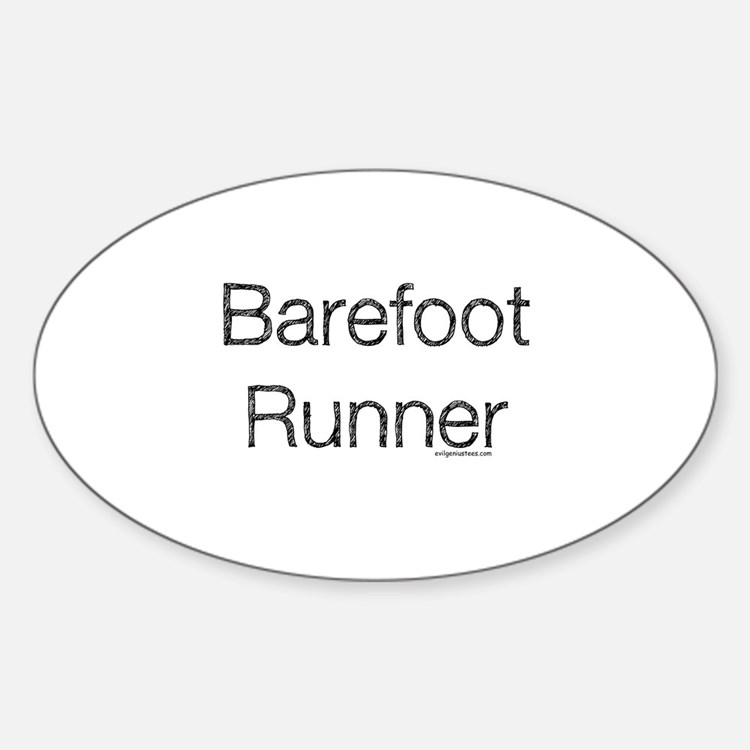 Barefoot runner paleo primal Decal