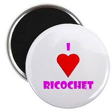 "I Heart ""Ricochet"" Magnet"