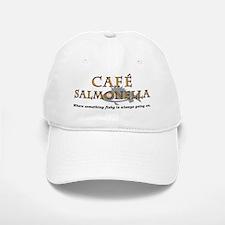 Cafe Salmonella Baseball Baseball Cap