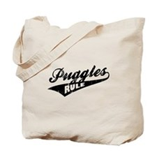 Puggles Rule Tote Bag
