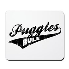 Puggles Rule Mousepad