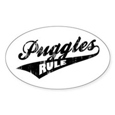 Puggles Rule Decal