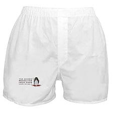 Cute Funny penguin Boxer Shorts