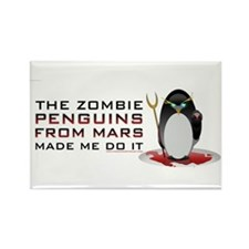 Funny Zombie Rectangle Magnet