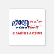 America's Greatest Sandblaster Sticker