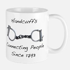 Handcuffs-Connecting People Mug