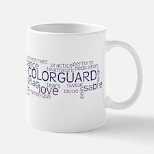 COLOR GUARD Words Mug