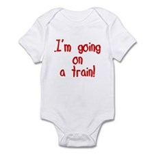 going on a train Infant Bodysuit