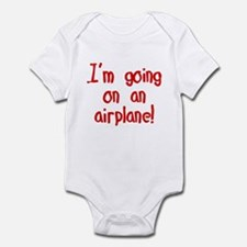 going on an airplane Infant Bodysuit