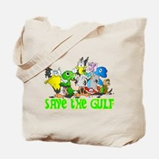 Save The Gulf Critters Tote Bag