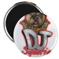 """Dj Sycotic 2.25"""" Magnet (100 pack)"""